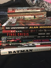 Lot of graphic novels and TBPs Fairfax, 22030