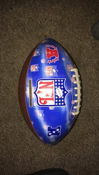 blue and brown NFL football Ewing, 08618