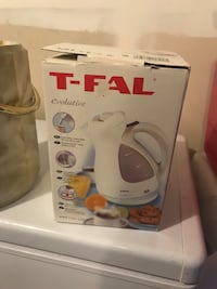 white and purple Tefal electric kettle Edmonton, T5X 0H2