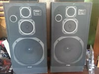 two black-and-gray speakers Richmond, 23225