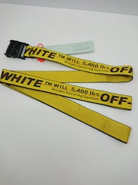 Off White Industrial Belt