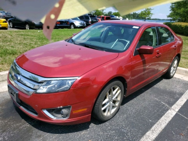 2010 Ford Fusion Ecodrive Fully Loaded Ac Cold