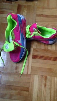 New Green-and-purple nike air max 90 shoes Laval, H7G 6G5