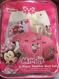 Baby's pink and white minnie mouse bouncer box Hemet, 92544