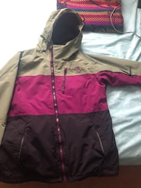 North face coat women's Large