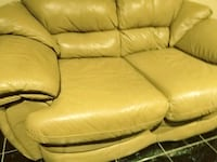 brown leather seat sofa Pharr, 78577