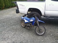 blue and black Yamaha ATV Tukwila, 98168
