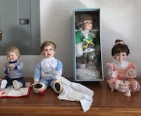 Dolls- sold separately or together - all with boxes and excellent condition