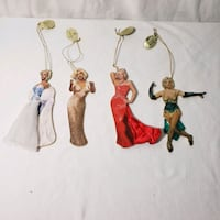 The Glamorous Miss Monroe ornament collection.  Annandale, 22003