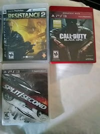 two Sony PS3 game cases Las Vegas, 89106