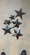 six black star decors