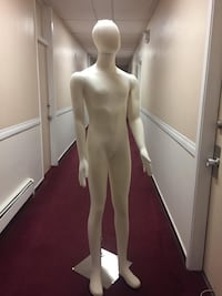 Mannequin. Male mannequin with soft body.