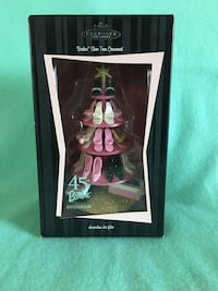Hallmark Barbie  Shoe-tree ornament