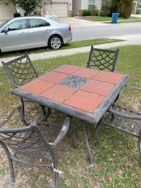Patio Table with 4 Chairs  Spring Hill, 34609