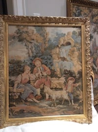 """26"""" x 32"""" Picture Authentic Venetian Tapestry from Venice Quality Fame"""