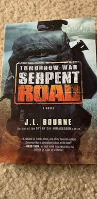 Tomorrow War Serpent Road by J L Bourne Crofton, 21114