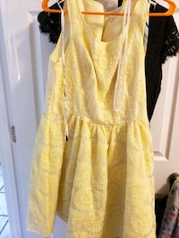 Lauren conrad sunflower dress size 12 Centreville, 20120