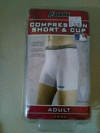 Franklin Sports Adult Compression Short With Cup Lubbock, 79413
