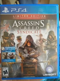 Assassin's Creed Syndicate Limited Edition (PS4) Richland Hills, 76118