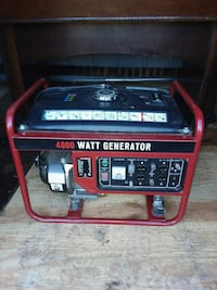 Genarator 4000 watts with built in battery charger