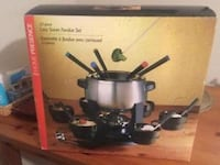 STOKES Lazy Susan  Fondue Set Cambridge