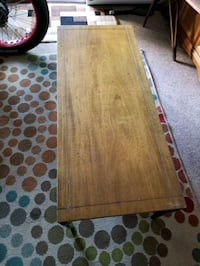 """48""""-20 wood coffee table not particle board"""