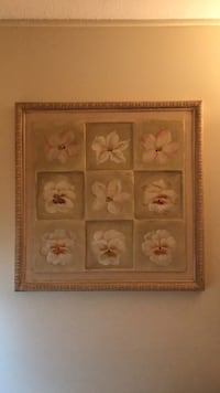 Four white and pink floral paintings Somersworth, 03878