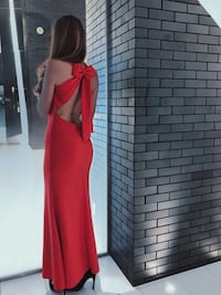 Red Evening Dress with bow  Toronto, M4Y 1J7