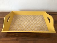 (IRVING, TX) Yellow Serving Tray Irving, 75063