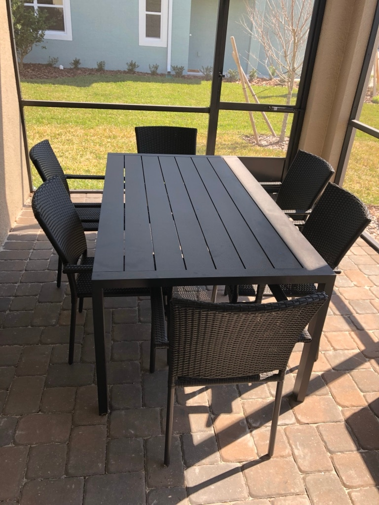 Used Restoration Hardware Patio Table For Sale In Clearwater   Letgo