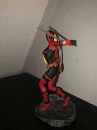 Deadpool action figure, payed $60 for it :)!