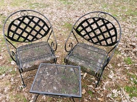 Wrought iron patio/outdoor furniture