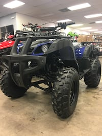 black and gray ATV quad bike Houston, 77036
