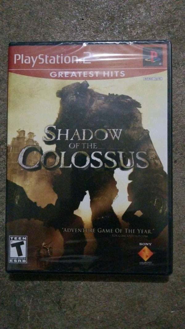Shadow Of The Colossus - PS2 GAME - New! 53823636-e59c-412a-a435-df7eb3cc1739