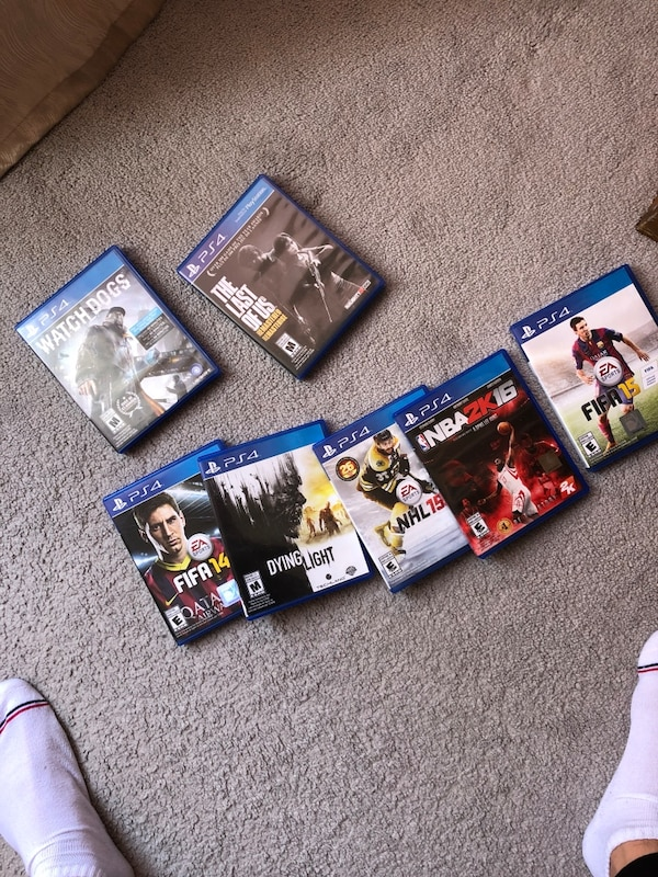 All PS4 games