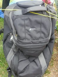gray and black hiking backpack Toronto, M6E 4V2