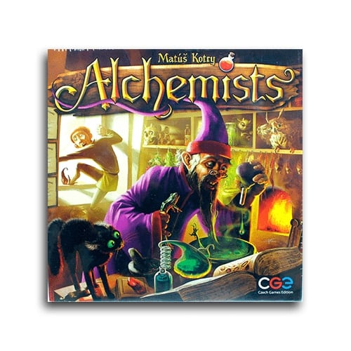 Alchemists (unopened, outer plastic is torn, game is unharmed)