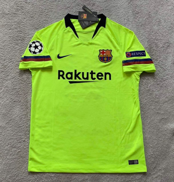 official photos a6202 8b6f3 Lionel Messi Barcelona FC Soccer Team New Men's Away Champions League  Soccer Jersey - Size M / L / XL
