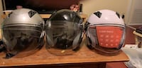 black and gray full face helmet Toronto, M5G 2K2