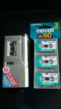 Sony Microcassette Recorder