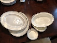 Wedgwood China - Amherst Pattern Serving Dishes. - 5 pieces Toronto, M8Y 0A6