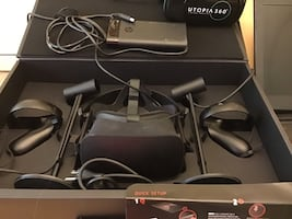 Oculus Rift Virtual Reality Gaming System