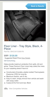 Ecosport all weather liners  Cuyahoga Falls, 44223