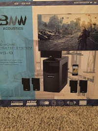 black and gray home theater system box Alexandria, 22306