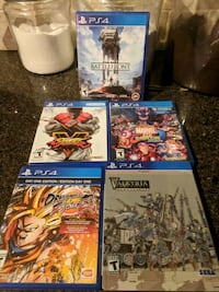 Ps4 game lot playstation 4 Chandler