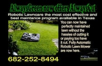 Lawn mower robitic Benbrook, 76126