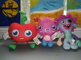 Original Moshi Monsters Plush Toys