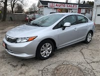 2012 Honda Civic LX/Certtifed/Accident Free/Bluetooth/Gas Saver Scarborough, ON M1J 3H5, Canada