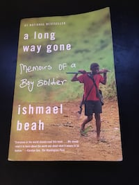 A long way gone by Ishmael Beah book