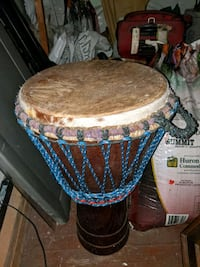 Djembe drum from Ivory Coast